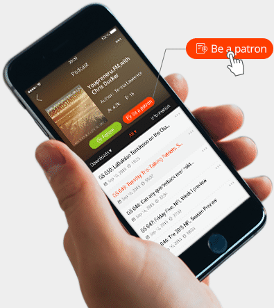 Raise funds directly from Podcast App